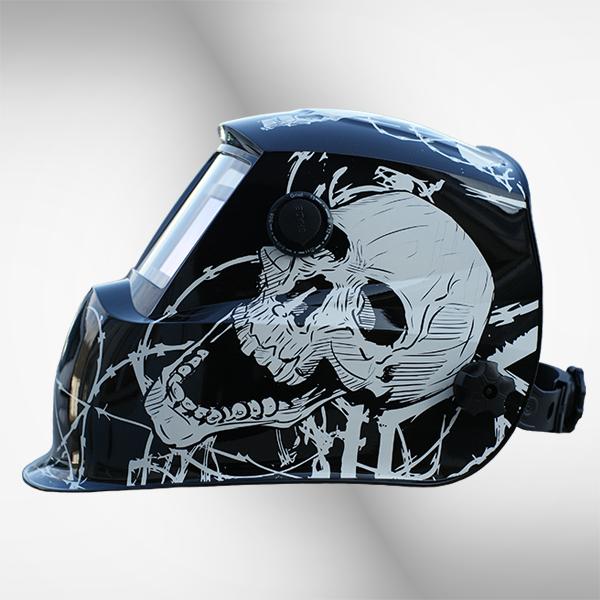 Przyłbica spawalnicza 2710G+ skull 3