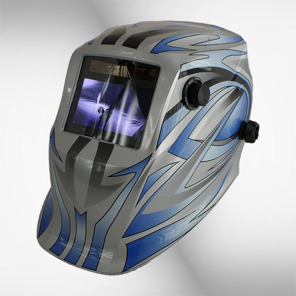 Przyłbica spawalnicza 5600G qubo silver 2