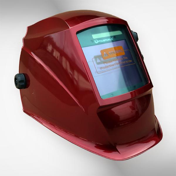 Przyłbica spawalnicza 5958E red 2