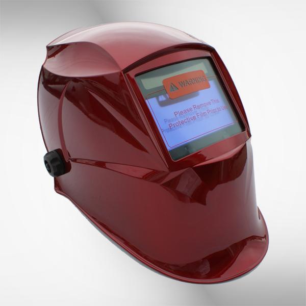 Przyłbica spawalnicza 5718G+ red 2